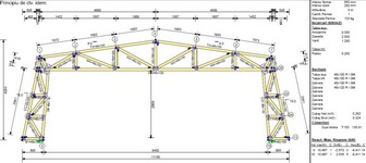 Structura usoara InTekWood pentru mansarde model FA3M3