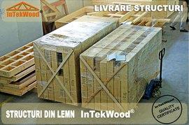 Montaj case din lemn