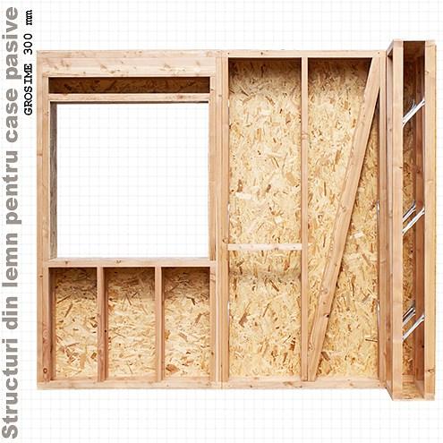 case din lemn pasive