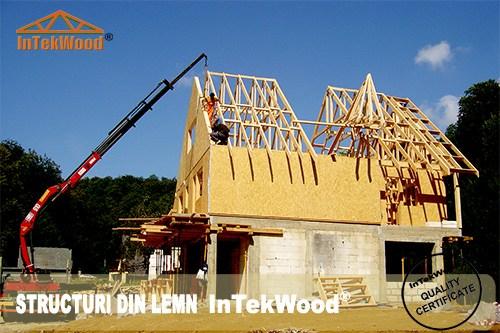 Constructii mansarde din lemn pentru case