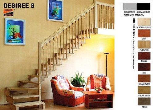 Scari interioare din lemn - gama DESIREE S
