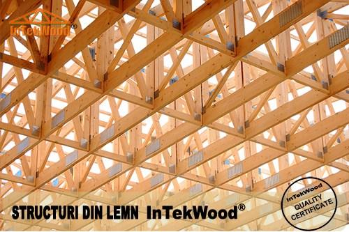 Hale industriale cu structuri din lemn InTekWood