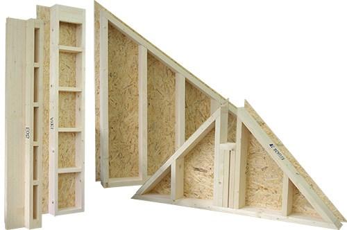Materiale de constructii din lemn pentru case