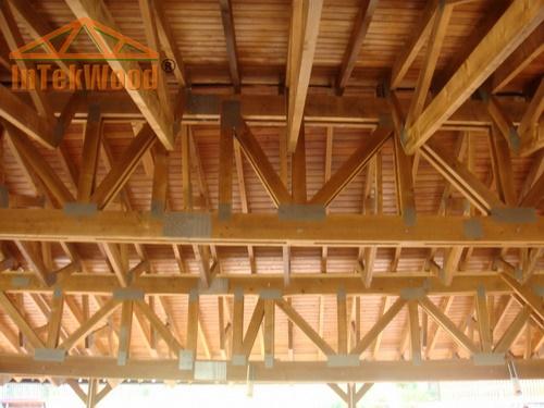 Terase cu structuri din lemn InTekWood