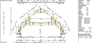 Structura usoara InTekWood pentru mansarde cu 2 nivele, model MANS2EMT
